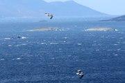 Türk Savaş Gemisini Gören Yunan Savaş Gemisi Kaçtı
