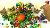 Muñeca bebé Baño Aprender los Colores del arco iris Caramelos M&Ms de Chocolate huevos Sorpresa de Ben y Holly fo