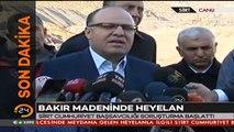 #SONDAKİKA Siirt Valisi Mustafa Tutulmazdan Şirvanda meydana gelen göçükle ilgili açıklama