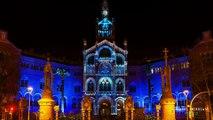 La Llum de Sant Pau - Timelapse Mapping