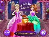 Permainan Frozen Halloween Party - Play Games Frozen Halloween Party