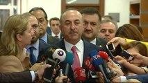 """Dışişleri Bakanı Mevlüt Çavuşoğlu: """"(Münbiç Operasyonu) Operasyon Henüz Başlamadı""""Kanı Mevlüt..."""
