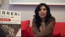 Giusy Ferreri presenta Girotondo: 'Sono incinta, ecco la mia dedica ai bambini'