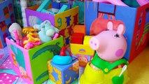 Свинка Пеппа Мультик с игрушками Беременная мама свинка РОДЫ МАМА СВИНКА Комната для детей