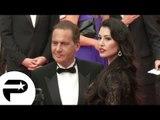 Eric Besson et sa femme - Montée des marches de Cannes 2014