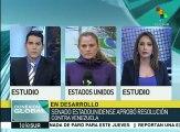 Congreso de EE.UU. revisa situación política y económica en Venezuela