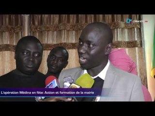 L'opération Médina en fête; Action et formation de la mairie