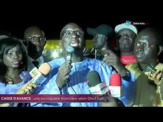Caisse d'avance   une escroquerie financière selon Diouf Sarr
