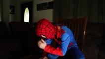 The Whole Story: Little Heroes Joker w/ Spiderman, Batman, Paul Fun in Real Life Comic Sup