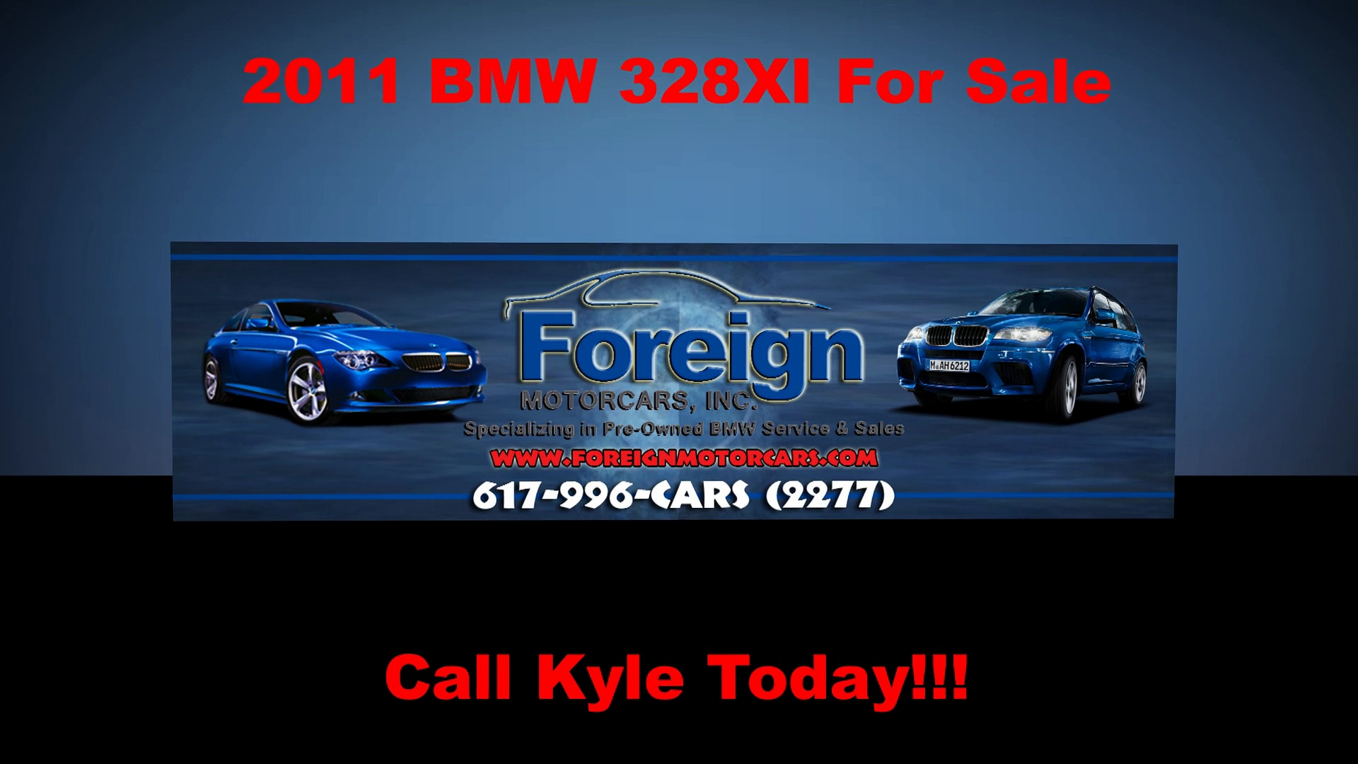 2011 BMW 328XI, For Sale, Foreign Motorcars Inc, Quincy MA, BMW Service, BMW Repair, BMW Sales