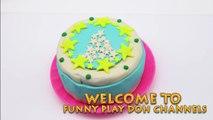 Peppa Pigs Christmas 2016 - peppa pig christmas cake play doh noel and happy new year 2017