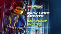 LEGO Worlds sur PS4 le 8 mars - Bande-annonce VF Trailer LEGO Agents [Full HD,1920x1080]