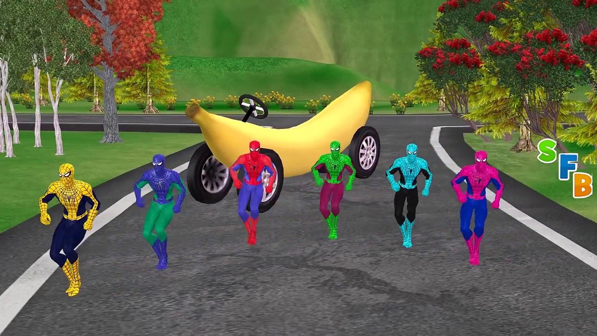 Миньоны банана мальчика хотите водить автомобиль новые серии Папины! Палец Семейные Песни Детские П