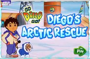 Diegos Arctic Rescue Dora and Diego games Dora the Explorer Baby and Girl cartoons and games