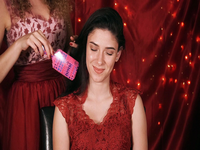 ASMR Gentle Hair Brushing & Scalp Massage, Ear to Ear Whispering for Sleep & Relaxation