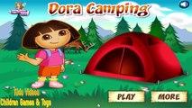 Dora The Explorer Online Games Dora Explorer Camping Game - Fun Baby Bathing Games for Little Girls