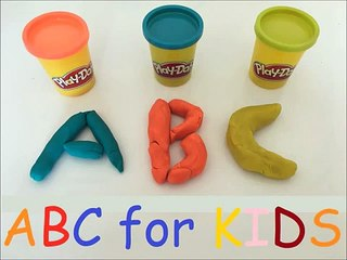 Learn English ABC ALPHABET with Play Doh for Children, Toddlers & Babies * Funny Kids Movi