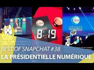 Best-of Snapchat #38 : Les projets numériques des candidats à la présidentielle