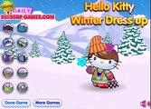 Привет Китти: зимнее видео игры одевалки для девочек новые новые игры, игр, косина, филь, кухни BW8DtI