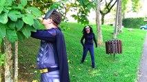 Человек-паук против замороженные Эльза против зомби Человек-Паук! Забавный супергерой фильм с Эльза в реальной жизни!