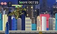 La pelcula de dibujos animados juego de Saltos de robots dinosaurios Robot de los Dinosaurios Jumping