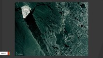 NASA Captures Image Of Glittering 'Ice Diamond' In The Caspian Sea