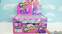Shopkins Season 5 Petkins Backpack Full Case Blind Bags Surprise with 3 Ultra Rares