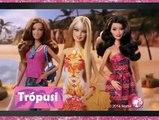 Mattel - Barbie Fashionista - Tropusi, Stilus & Luxus