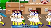 Десять маленьких индийских девочек караоке с тексты песен | детские стишки караоке с текстами