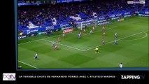 Fernando Torres : sa terrible chute avec l'Atlético Madrid (vidéo)