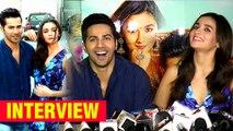 Alia Bhatt And Varun Dhawan's INTERVIEW For Badrinath Ki Dulhania
