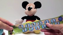 20 Kinder Surprise Eggs Unboxing! Mickey Mouse Clubhouse Disney Pixar Cars 2 Filly Maxi Su
