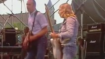 Status Quo Live - Caroline(Rossi,Young) - Out In The Green - Dinkelsbühl West Germany,5-7 1986