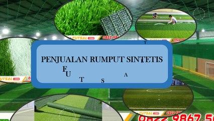 Rumput Sintetis Untuk Futsal Berkualitas Dengan Harga Terjangkau | WA +62 813 1888 3437