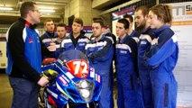 Damien Saulnier, team manager Junior Team Suzuki, prépare les 24 Heures Motos avec ses élèves