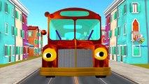 Колеса на автобусе идут круглый и круглые, с прибаутками-Паук | детский сад для детей с