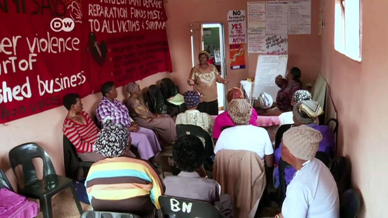 South African activist receives women's award   DW News