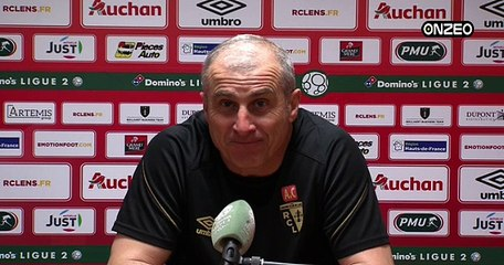POINT PRESSE (RCL) : AVANT RED STAR - LENS