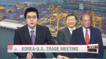 Korean Trade Minister to sit down with U.S. counterpart early next week in Washington D.C.