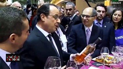 François Hollande trop alcoolisé au salon de l'agriculture ! - Emission d'Antoine du 04/02 - CANAL+