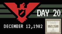Let's Play Papers Please #20 Another Wall Plaque.(Day 20)