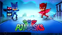 The PJ MASKS Transform into SUPERMAN v BATMAN Arkham Origins│Transforming superheroes Colo