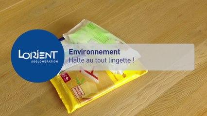 Environnement: halte au tout lingette!