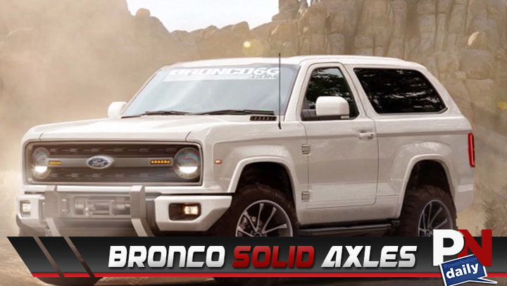 Ford Delivery, Bronco Axles, McLaren 720S, What's Trending, Ride Of The Week, And Fast Fails!