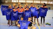 Handball Collège Charles Mozin Trouville-sur-Mer Benjamines Championnes départementales UNSS 2017