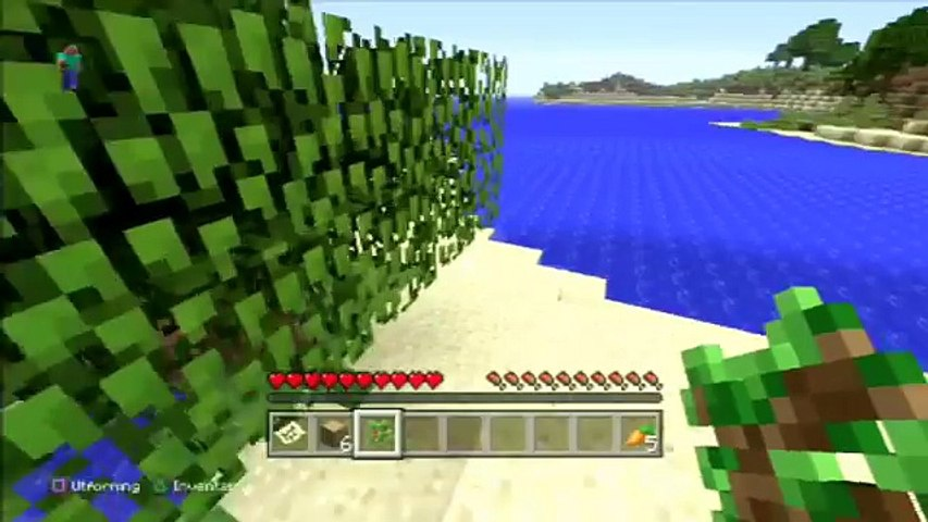 Minecraft Ps3 Ps4 Xbox Classic Crafting Title Update Menu Gameplay Showcase Tutorial Video Dailymotion