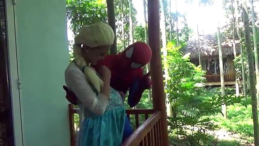 Spider-Man vs Pregnant Frozen Elsa vs Babies & Doctor Maleficent ! Fun Superheroes Movie IRL