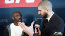 UFC 208: Jared Cannonier Says Why He Holds Up Jewish Prayer Shawl After Wins