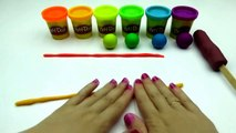 PLAY DOH Rainbow Swirl Popsicle DIY | LEARN COLORS Play Dough Rainbow Activity! Ice Cream Rainbow