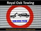 Royal Oak Towing (248) 655-7039
